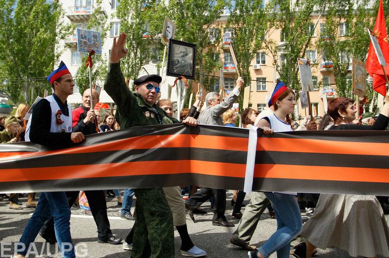 На 9 мая в Донецк никто из именитых российских гостей так и не пожаловал