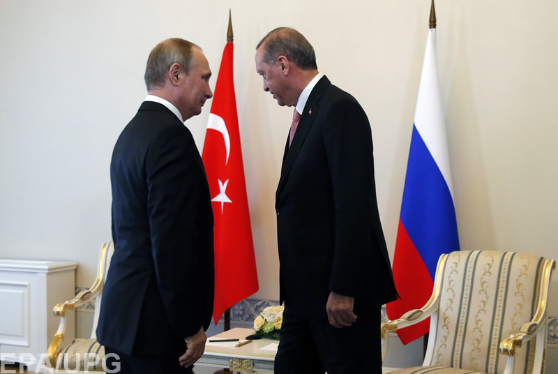 На встрече в Санкт-Петербурге Эрдоган и Путин забыли все обиды