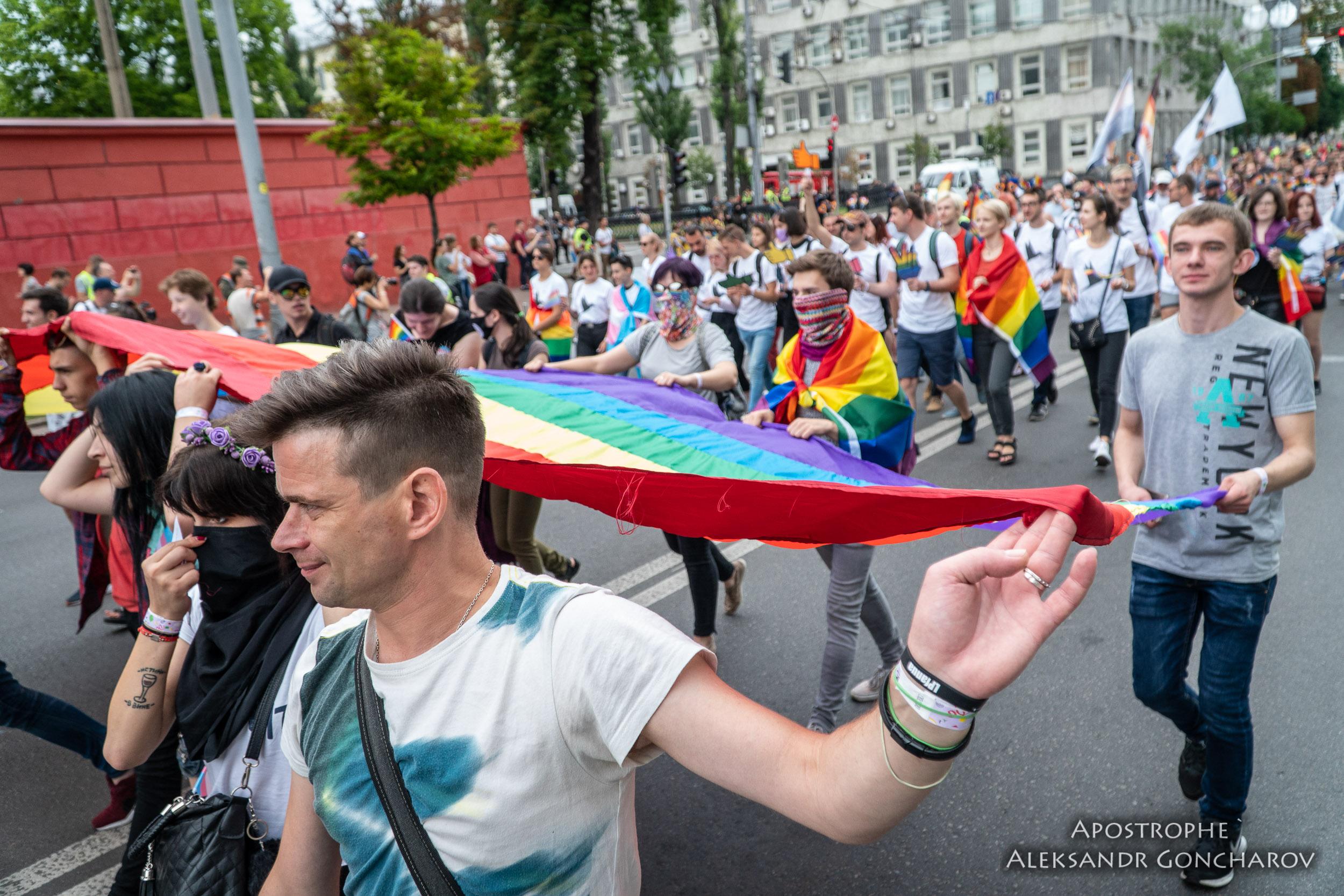 На Марше равенства были беспрецедентные меры безопасности