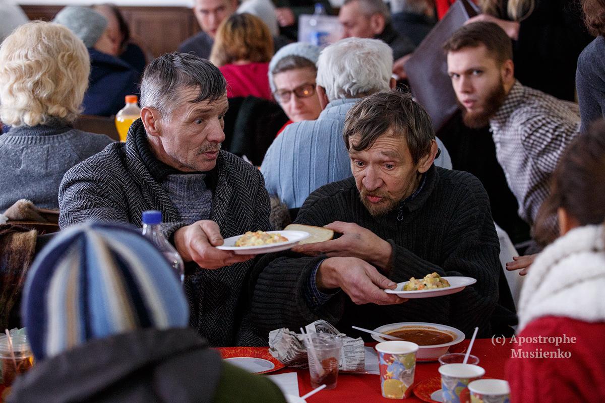 Благодійні обіди організували також у Львові та Івано-Франківську
