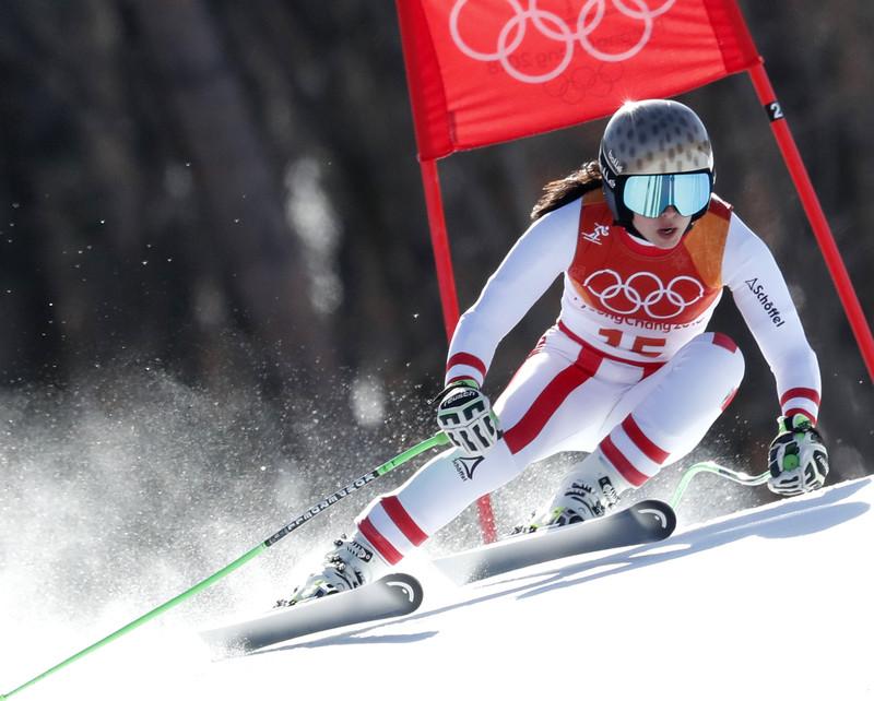 21 февраля в Пхенчхане разыграно 7 комплектов медалей