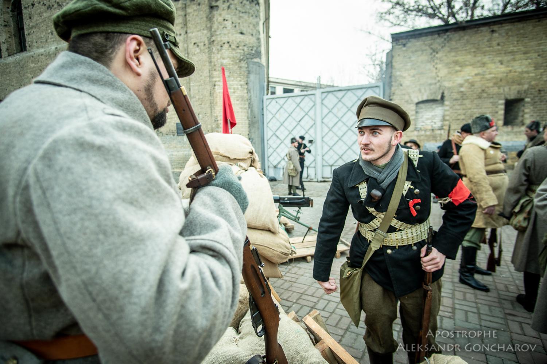 Восстание на заводе арсенал Киев 1918 бои