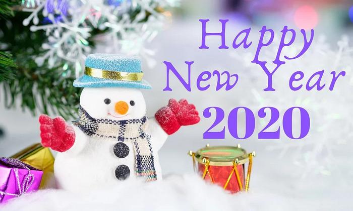 Картинки с наступающим новым годом 2020 красивые с пожеланиями прикольные