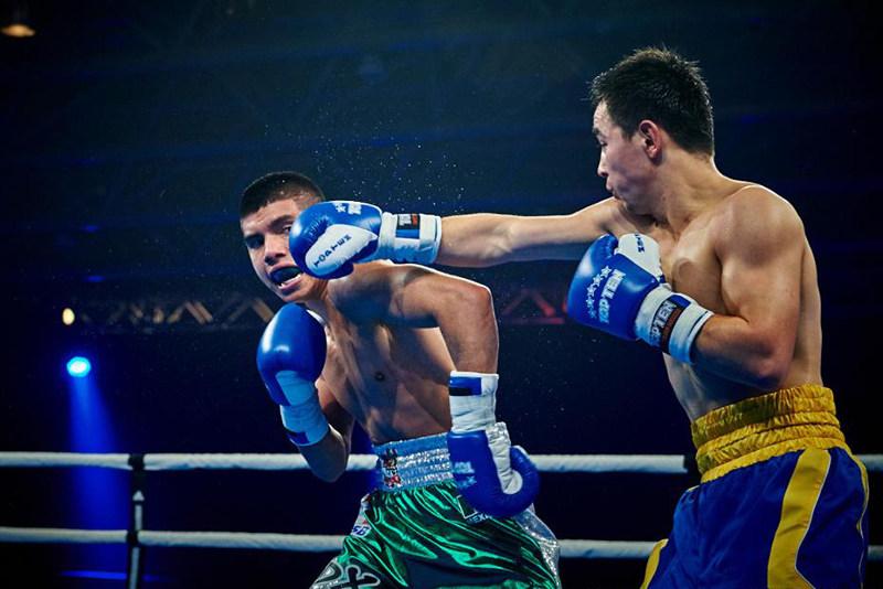 В первом матче сезона Всемирной серии бокса наш клуб победил мексиканцев