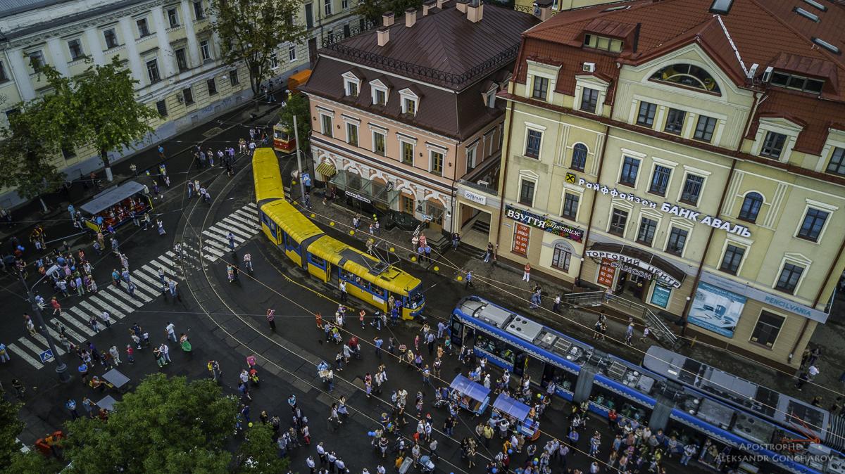 Столица отметила 125-летие этого вида транспорта