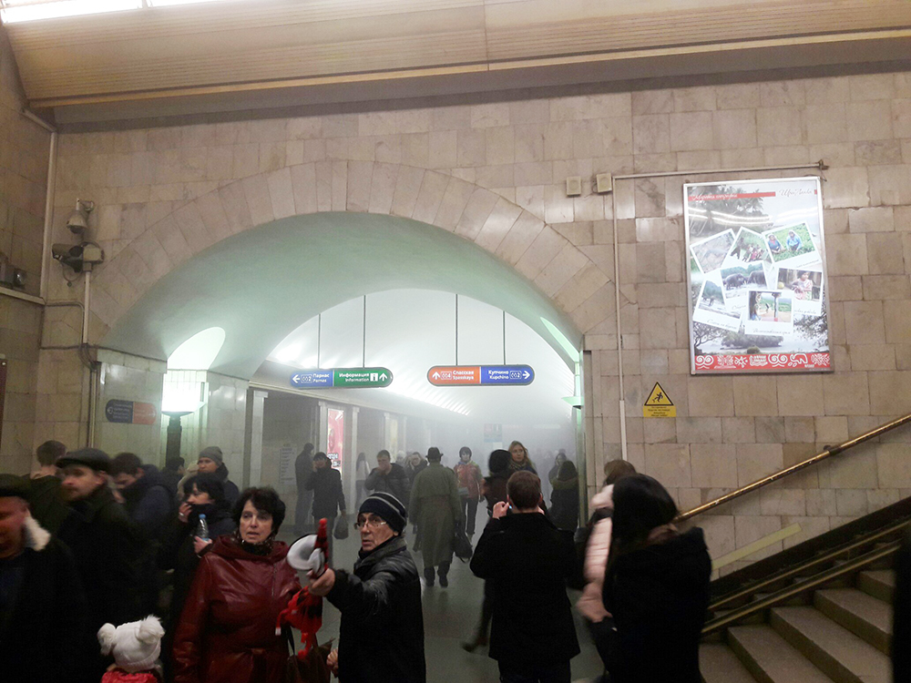 В метро Санкт-Петербурга прогремел смертельный взрыв