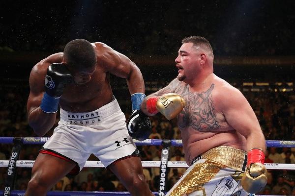 Джошуа разгромил Руиса и вновь стал чемпионом мира в супертяжелом весе