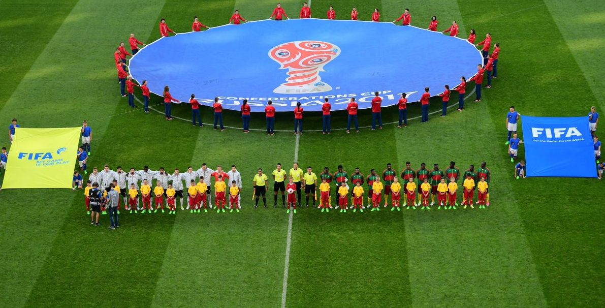 Чемпионы мира встречались с лучшей сборной Африки