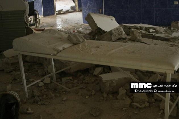 Отавиаудара вИдлибе погибли 19 человек иразрушена клиника