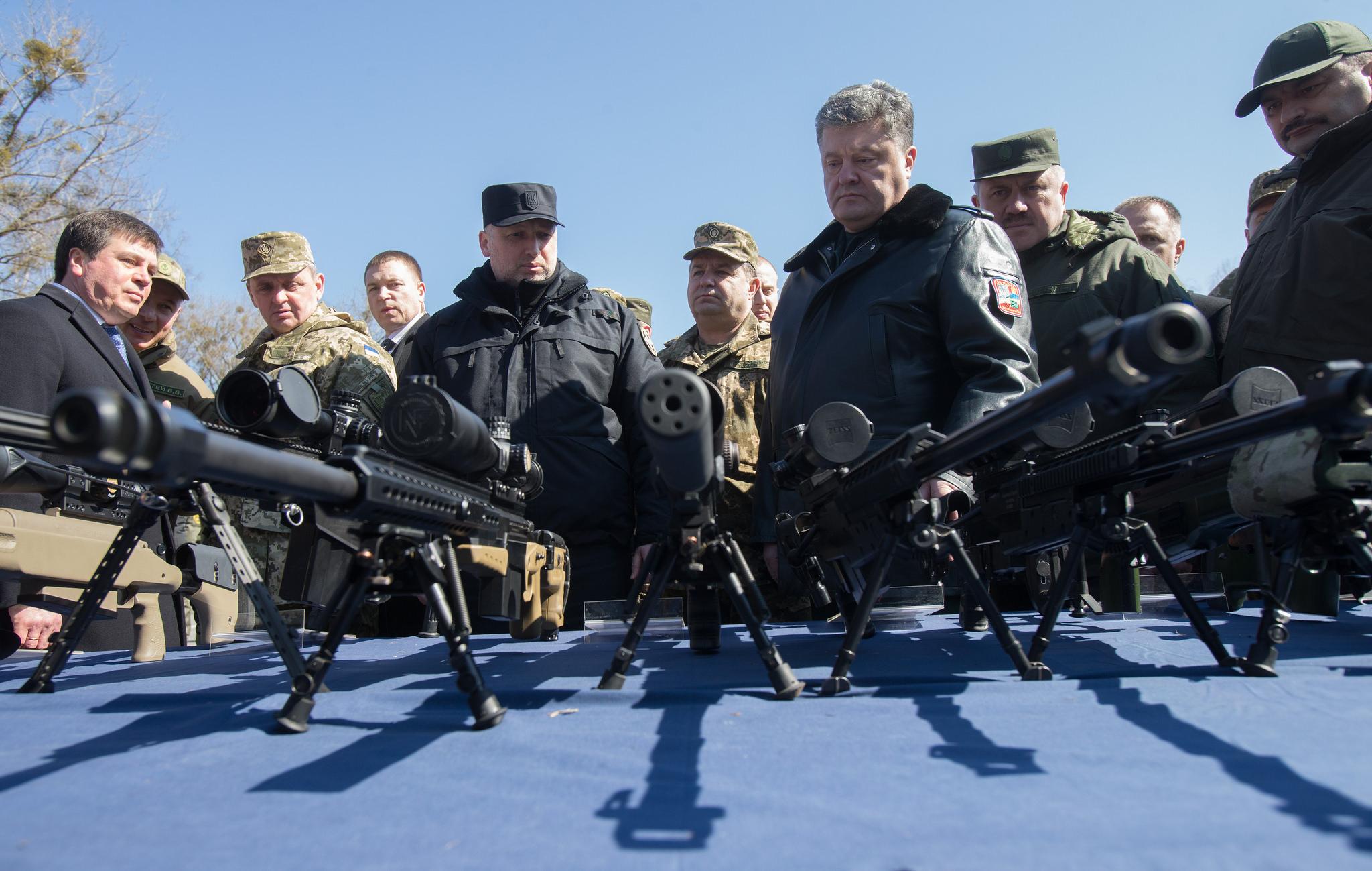 Также Порошенко может заговорить о военном положении