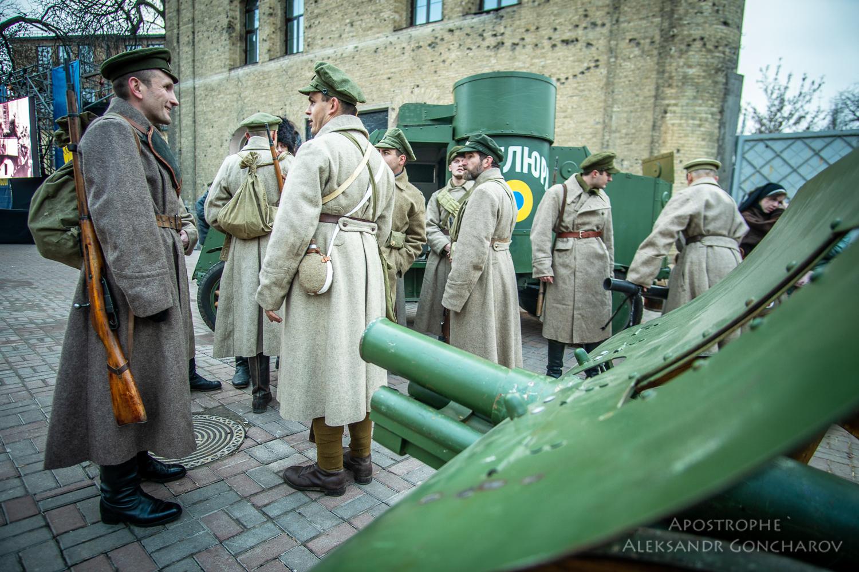 Восстание на заводе арсенал Киев 1918 битва УНР
