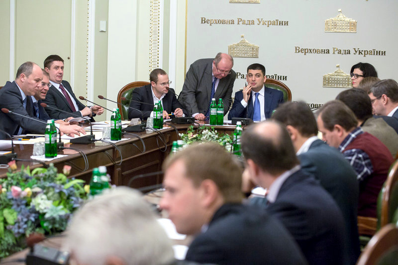 Народные депутаты нового созыва решили сократить количество комитетов в парламенте