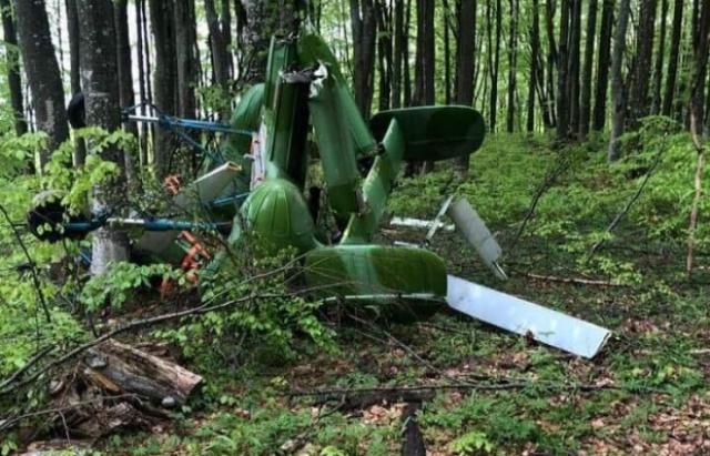 Всоседней сЗакарпатьем Румынии обнаружили потерпевший крушение вертолет стелом пилота