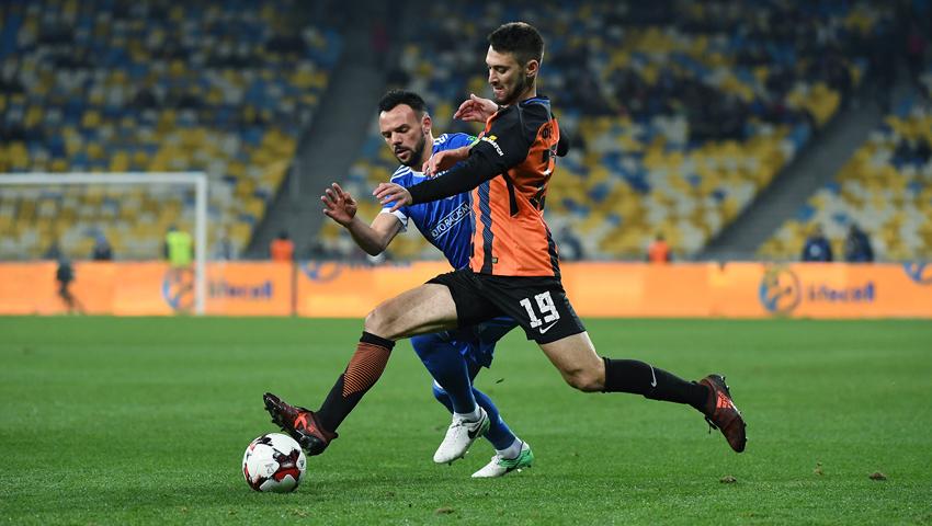 В Харькове прошел главный матч украинского футбола