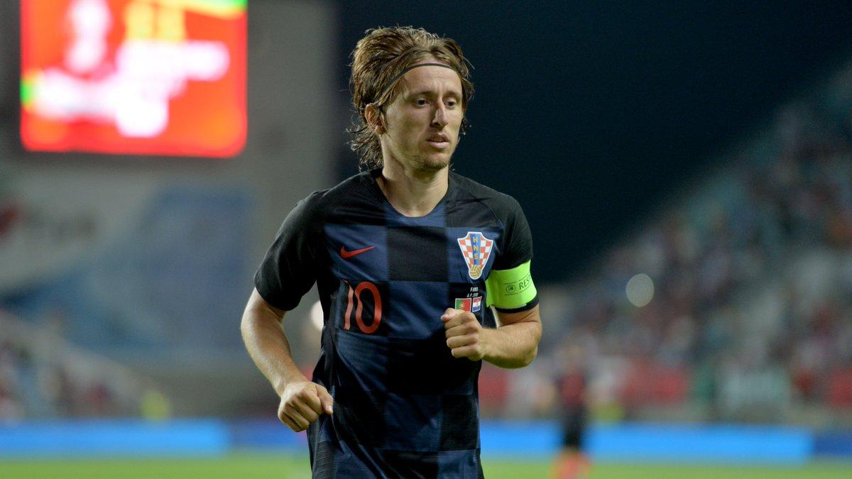 Сборные Хорватии и Англии сыграли в рамках Лиги наций