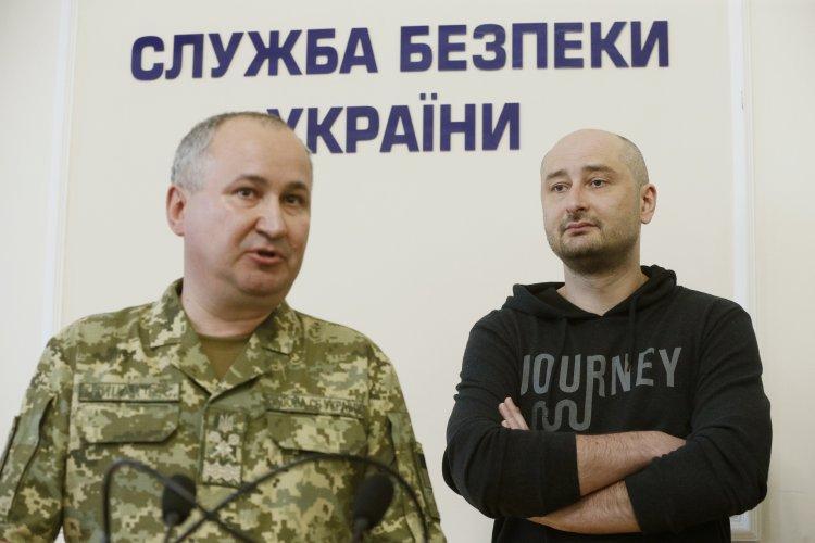 Алексей Арестович об инсценировке убийства Аркадия Бабченко
