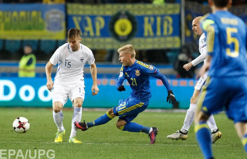 12 ноября сборная Украины в отборочном матче чемпионата мира-2018 принимает в Одессе Финляндию