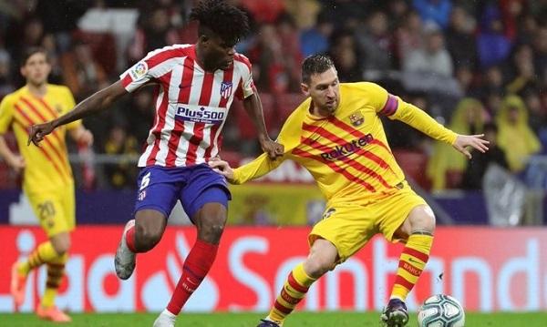 Футбол испании барселона атлетико смотреть онлайн