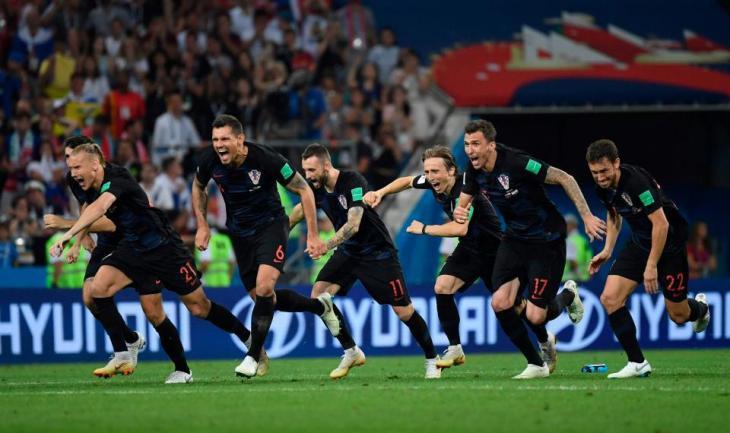 Хорватия победила Англию и вышла в финал ЧМ-2018