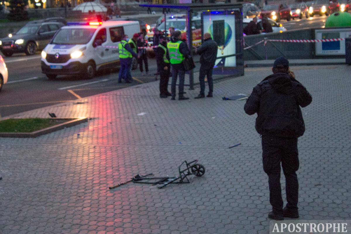 Майдан Хрещатик ДТП вбив двох п'яний тверезий алкотест