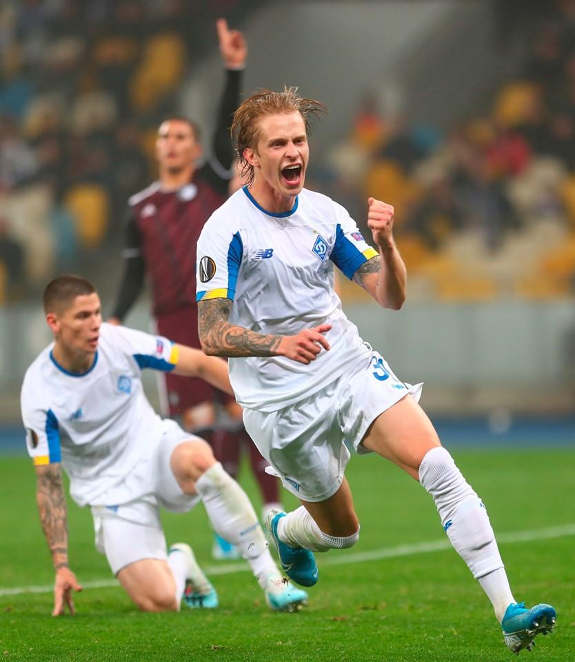 Киевляне не сумели обыграть главного конкурента в Лиге Европы