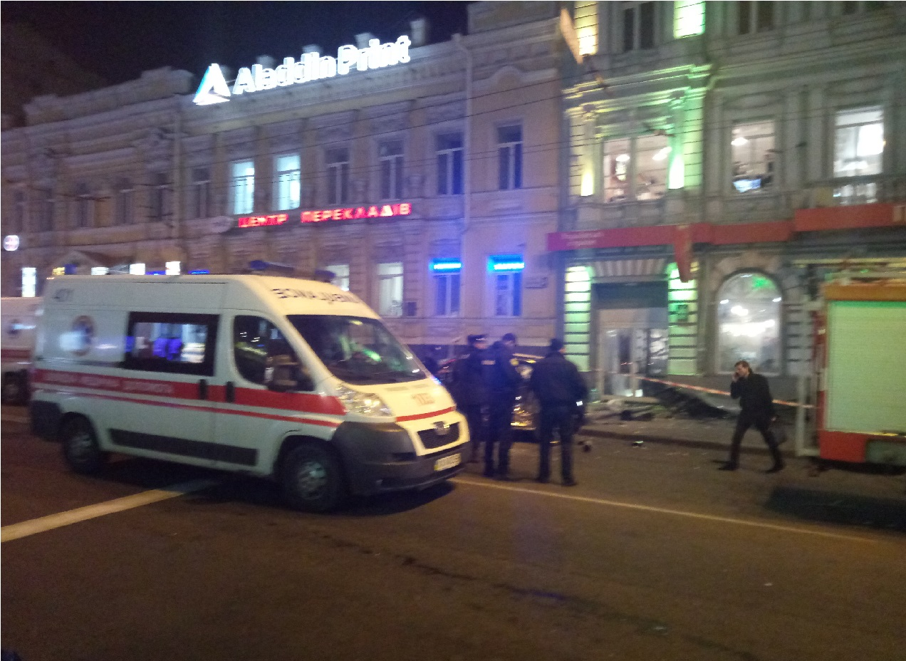 Позашляховик в'їхав унатовп людей вцентрі Харкова. Є загиблі