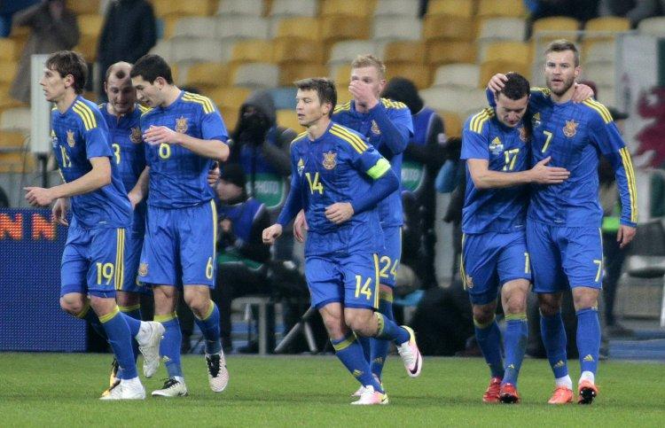 Украинская сборная удачно провела первый спарринг накануне Евро-2016