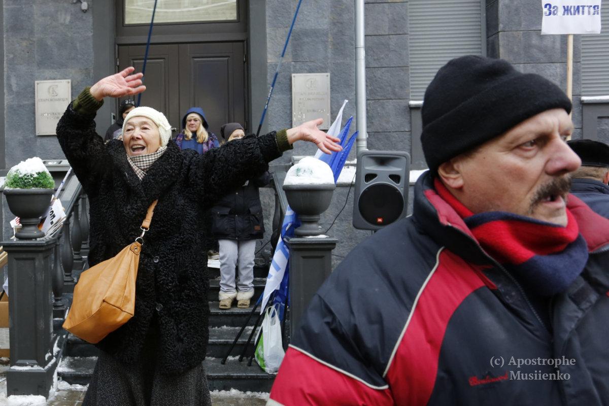 Милиция подсчитала количество протестующих вцентре столицы Украины