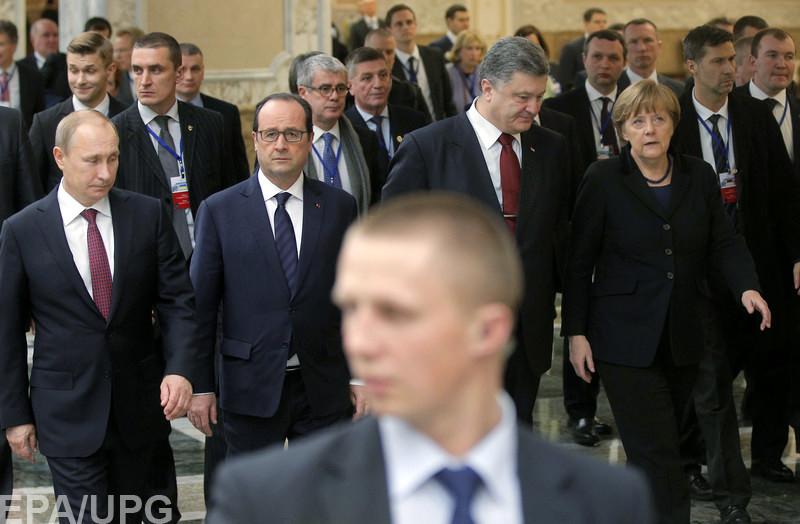 Запад уже не расчитывает на выполнение Киевом политической части Минского соглашения