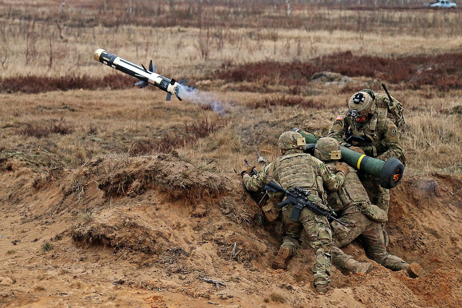 Stratfor о вероятности поставок Javelin для Украины