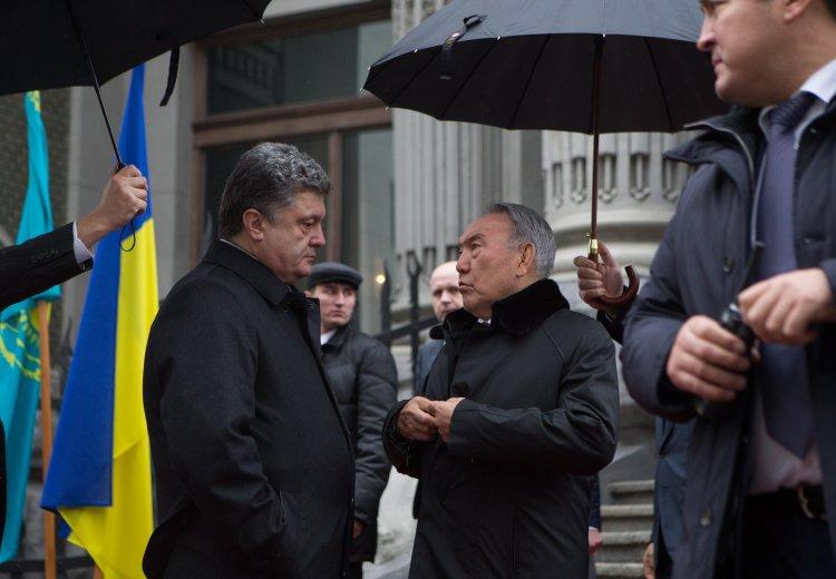 Президенты Беларуси и Казахстана заверили официальный Киев во всесторонней поддержке