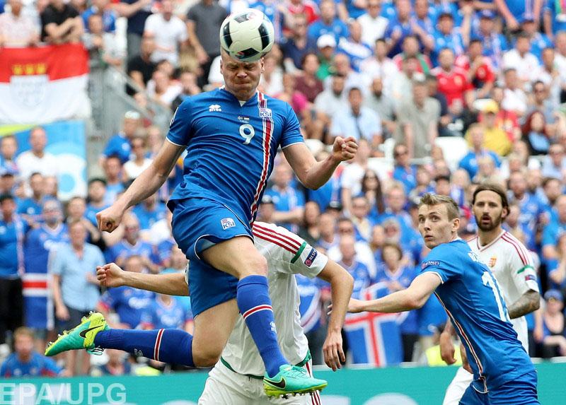 27 июня англичане и исландцы закрыли программу матчей 1/8 финала Евро