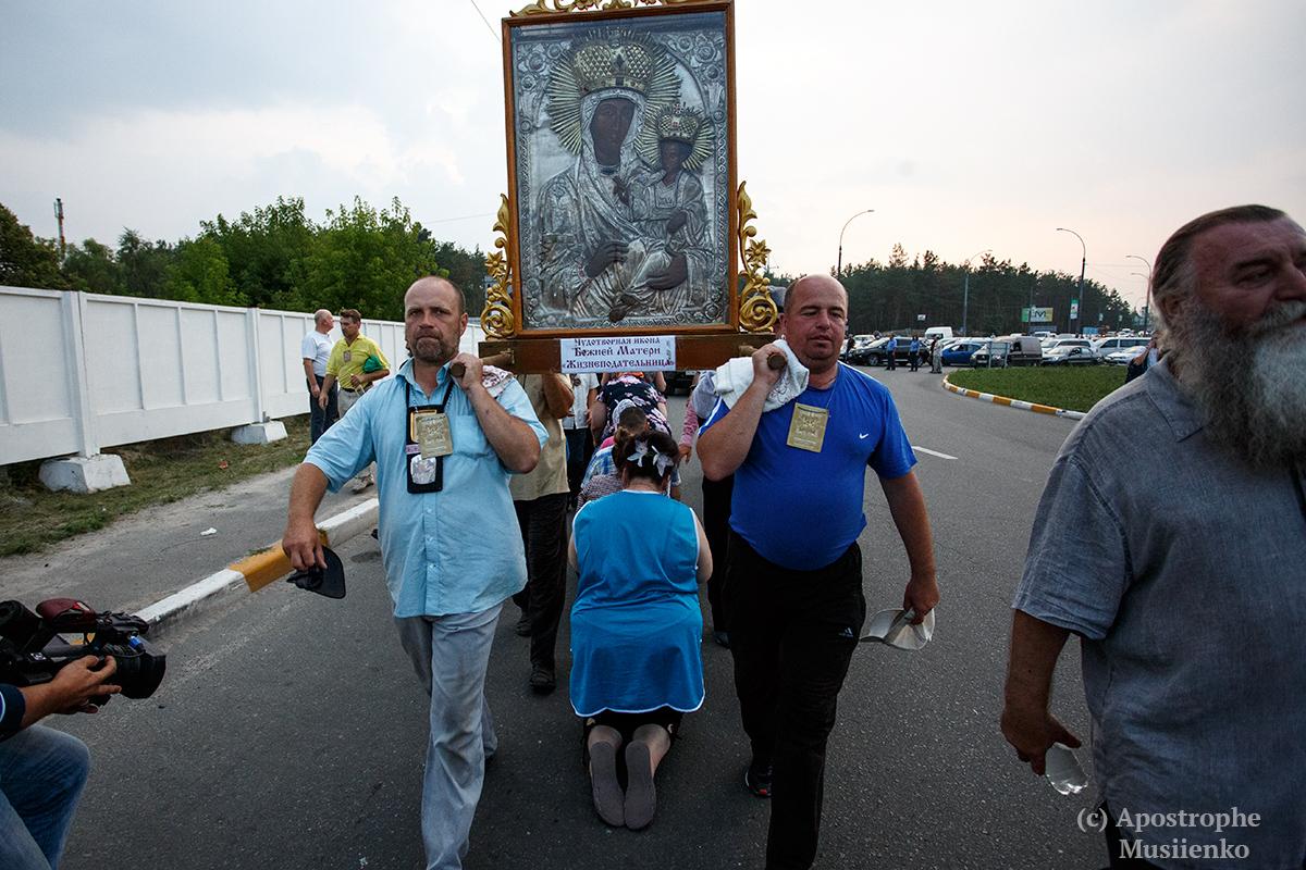 Ход на Киев подошел к столице по Житомирской трассе