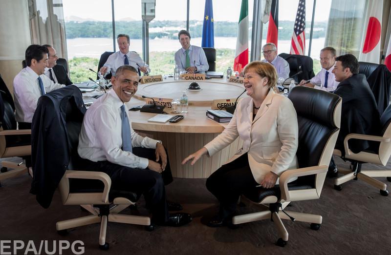 Блогеры довольны тем, что G7 может усилить ограничения в отношении России
