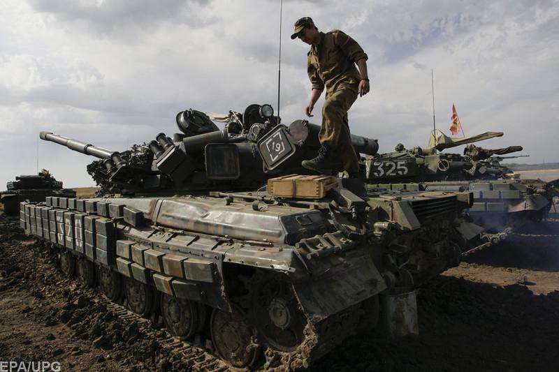 русские войска в донецке