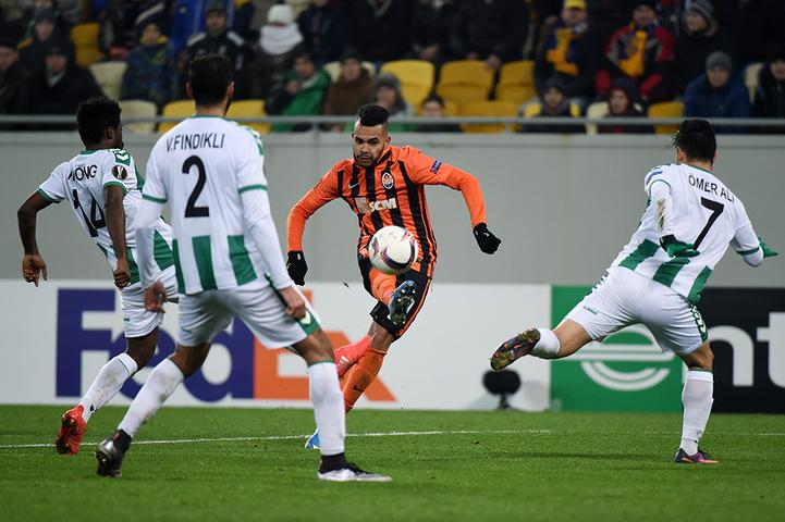 """""""Шахтер"""" провел последний домашний матч группового этапа Лиги Европы в этом году"""