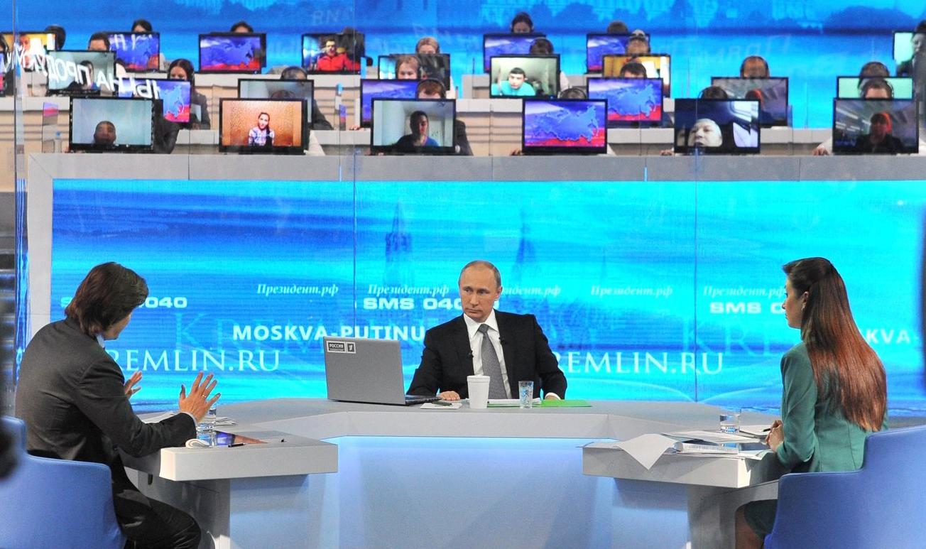Путин 15 июня отвечает на вопросы россиян по поводу ситуации в стране и на внешней арене