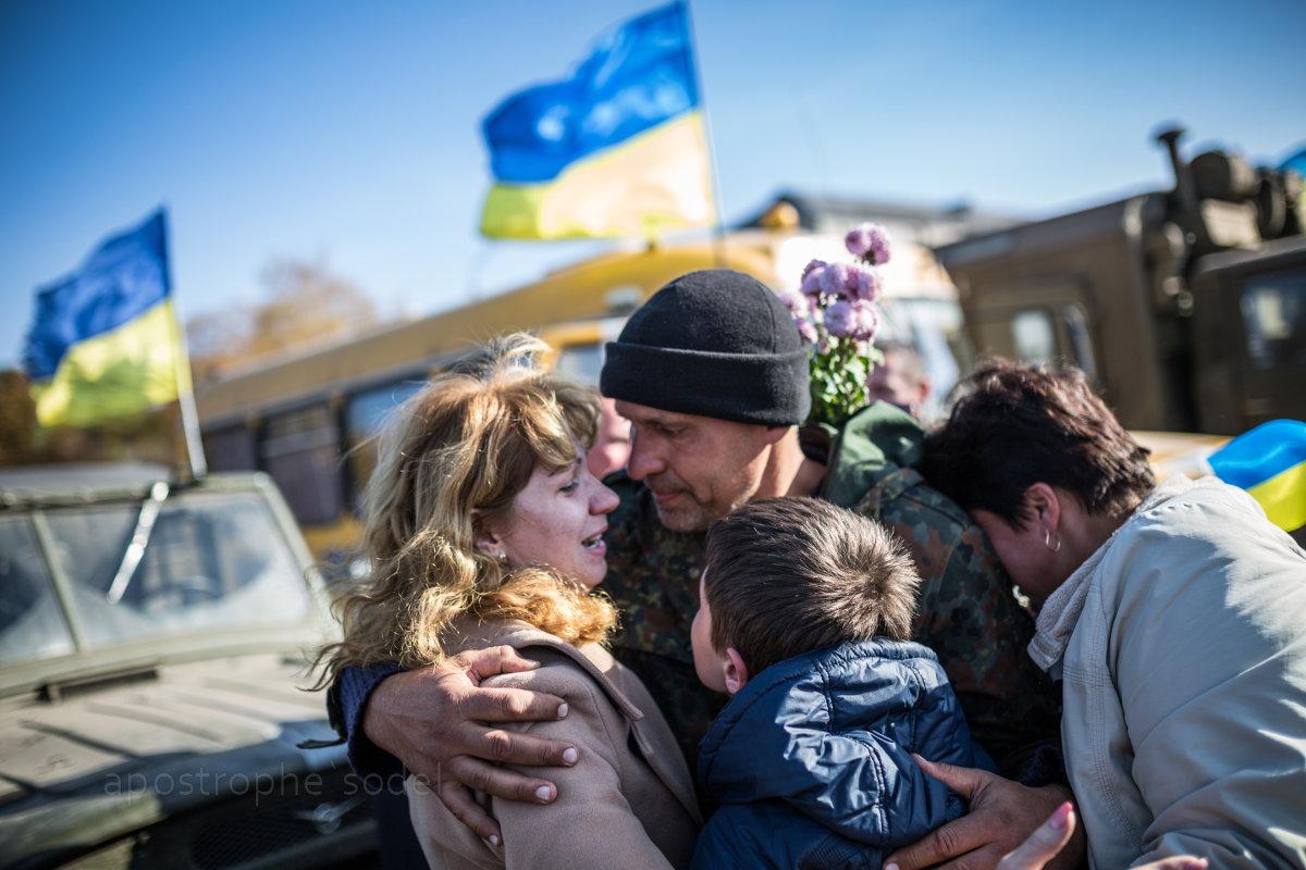 Батальон «Киевская Русь» вернулся из зоны АТО