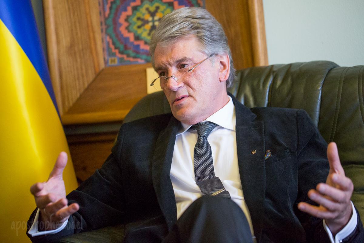 Третий президент Украины о войне, победе и том, как спасти экономику Украины