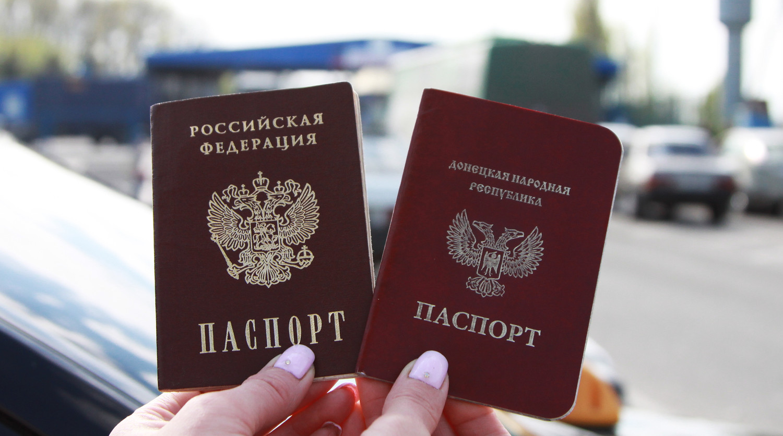 ВКремле ответили наслова Гройсмана о русских  паспортах для граждан  Донбасса