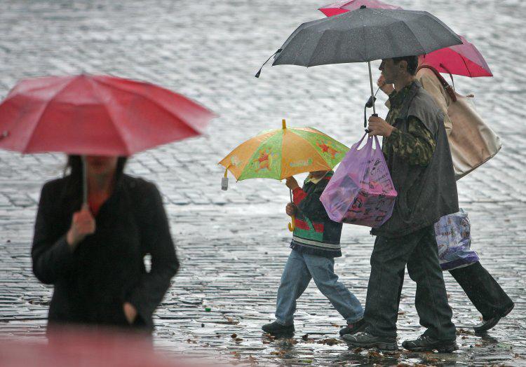 На майские в некоторых регионах ожидаются дожди