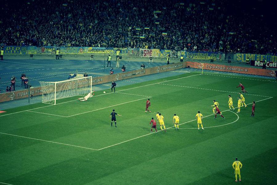 Сборная Украины проведет решающий матч отборочного турнира