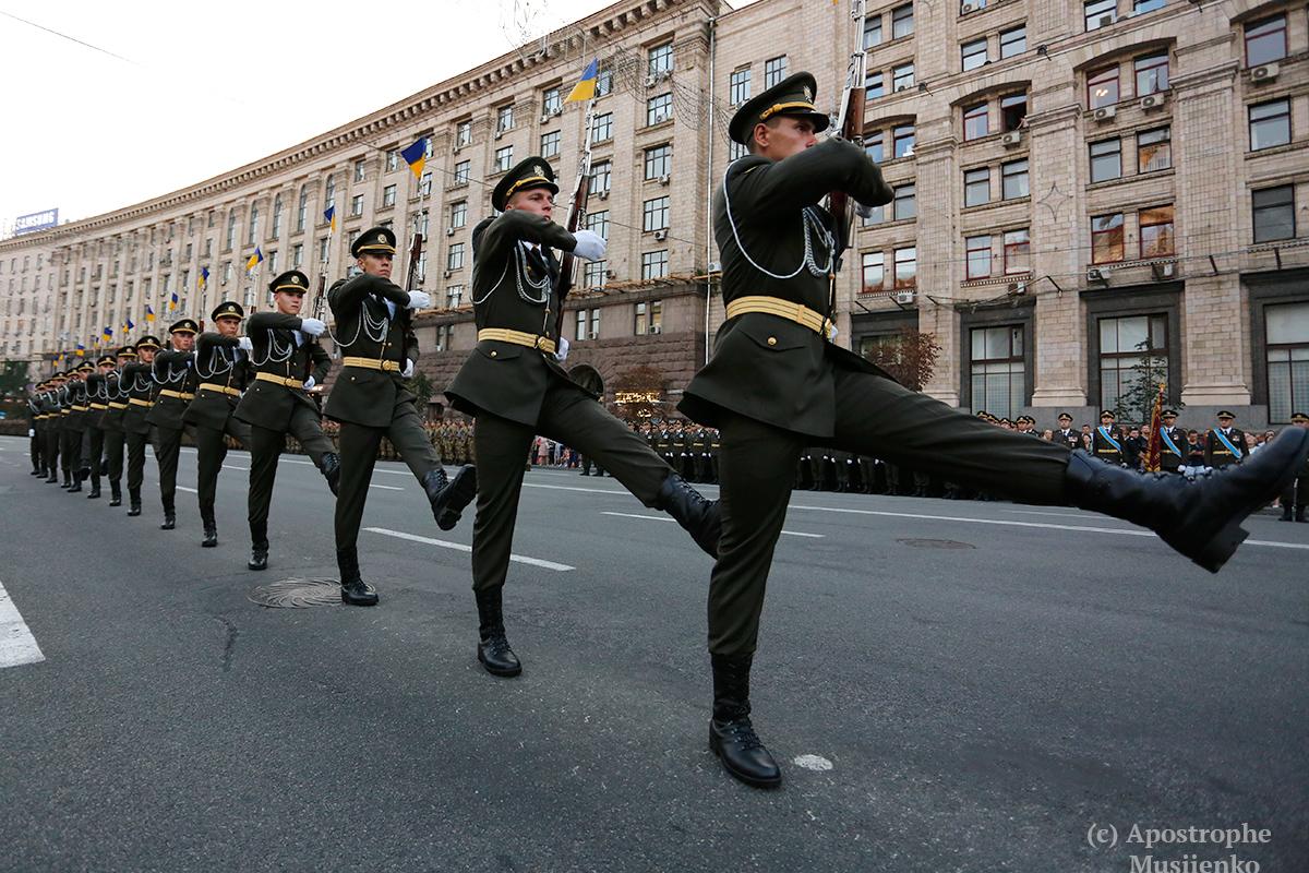 Украина отмечает 25-летие своей независимости