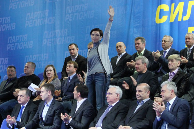 Скандальный депутат от ПР возглавила самый большой медиахолдинг Украины