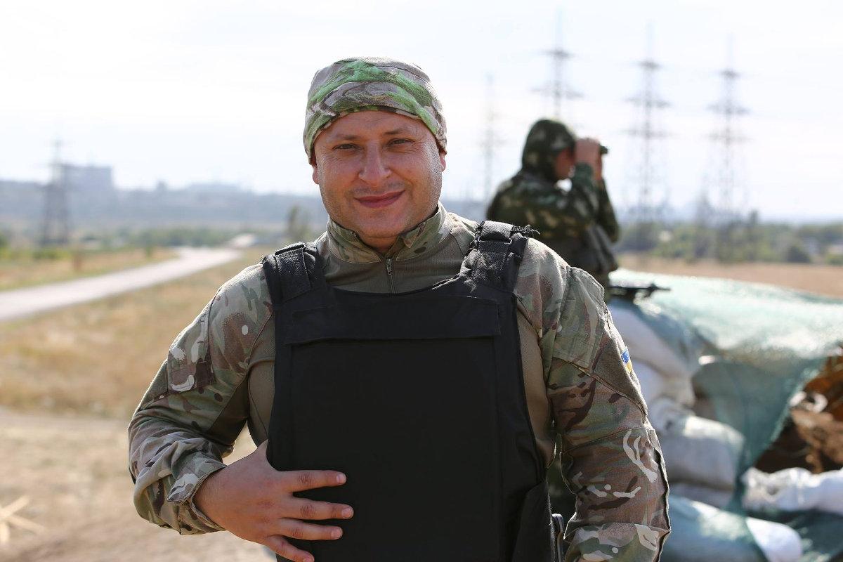 Полковник Влад Волошин: по нам стреляли снайперы, а здание горадминистрации было заминировано