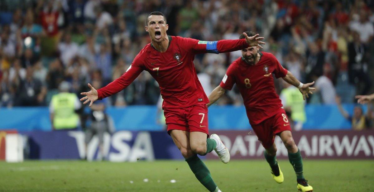 В матче третьего тура ЧМ-2018 встречались Иран и Португалия