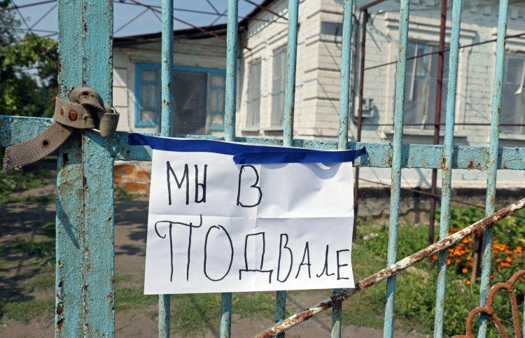 Боевики вынуждают жителей города готовиться к атаке ВСУ и копить запасы в бомбоубежищах