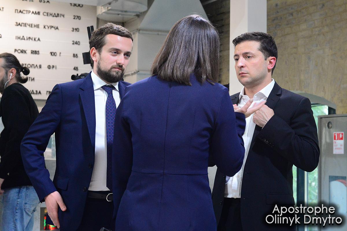 Новый руководитель  партии «Слуга народа» допустил проведение досрочных местных выборов вгосударстве Украина