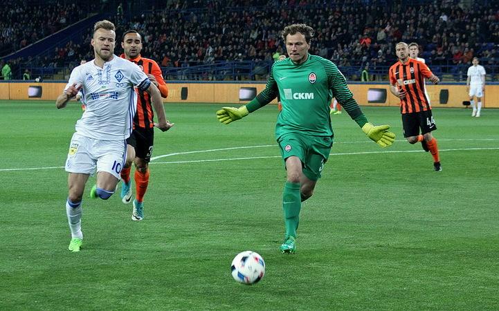 Гранды украинского футбола открыли новый сезон битвой за трофей