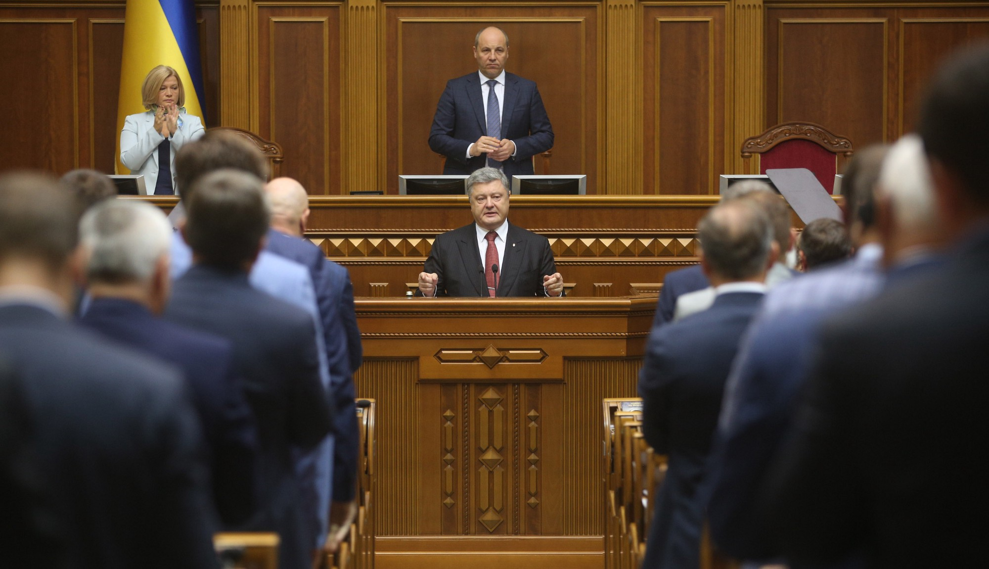 Нардепы оценили выступление президента в парламенте